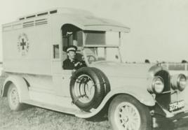 1928 Chrysler nodel 75 Ambulance