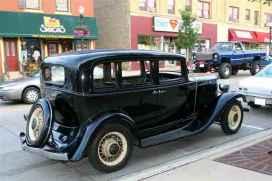 1932 Nash, Big Six, Model 1060, 5 passenger 4 Door