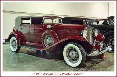 1933 Auburn 8-105 Phaeton Sedan