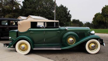 1933 Auburn 8-105 Salon Phaeton Sedan '4K 33 43' 5
