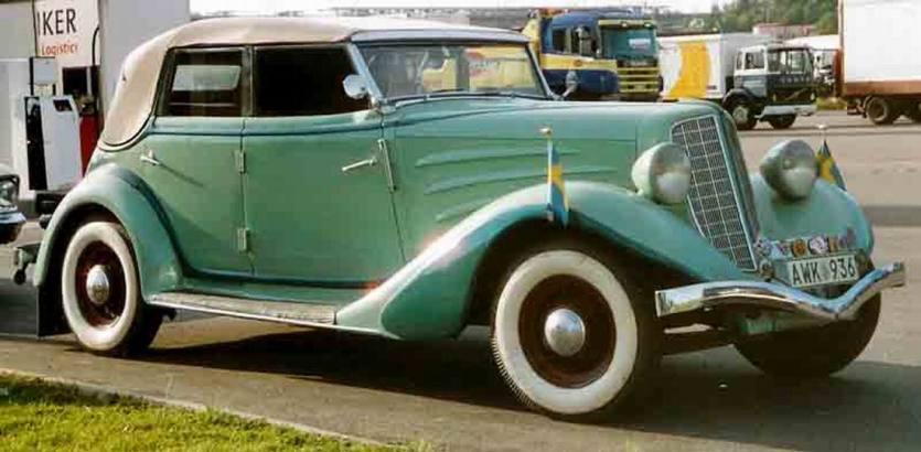 1934 Auburn 652Y Custom Phaeton