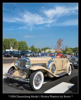 1934 Duesenberg Model J Riviera Phaeton by Brunn