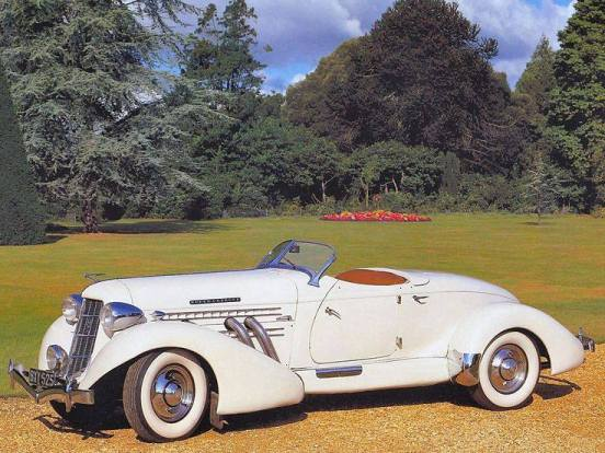 1935 Auburn 851 Supercharged Roadster