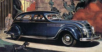 1935 Chrysler airflow eight sedan