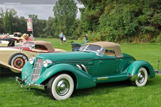 1936 Auburn Model 852 Supercharged Speedster