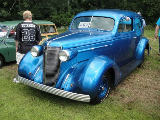 1937 Nash Lafayette 400 Series 3712 Coupe
