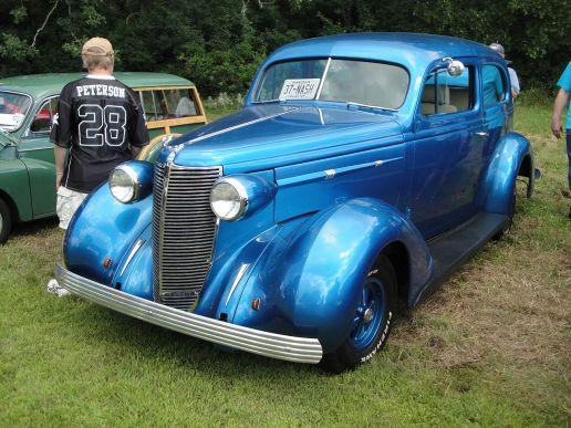 1937 Nash Lafayette 400 Series 3712 Coupe