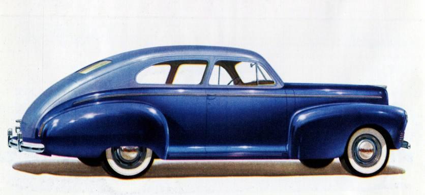 1941 Nash Ambassador 600 Slipstream