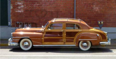1946 Chrysler Town & Country 4-Door Sedan
