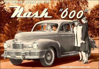 1946 nash 600