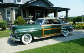 1949 Chrysler New Yorker Town Country Convertible Coupe