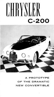 1952 Chrysler Concept ad