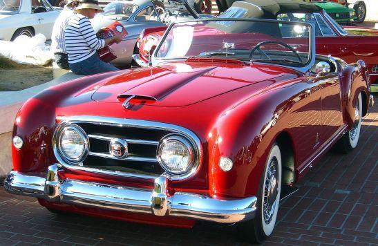 1952 Pininfarina-styled Nash-Healey roadster