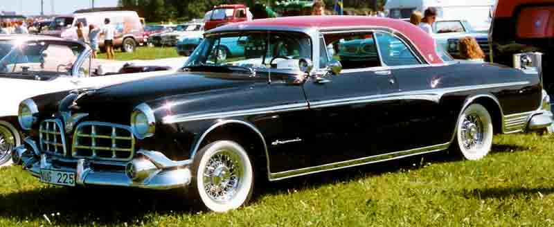 1955 Chrysler Imperial Newport 2-Door HT
