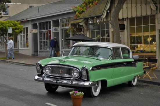 1956 Nash 4d Ambassador coupe