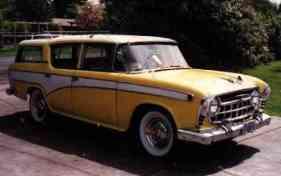 1957 Nash Rambler Custom 4 Dr. Station Wagon, 6 cyl. model 5718-2sw