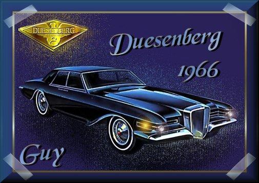 1966 Duesenberg Guy