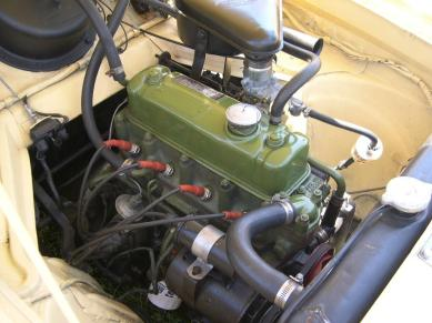Nash Metropolitan Series 3 Austin 1500 engine
