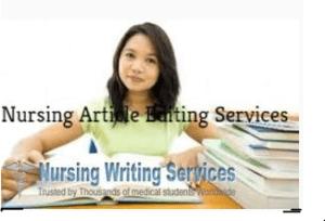 Nursing Article Writing