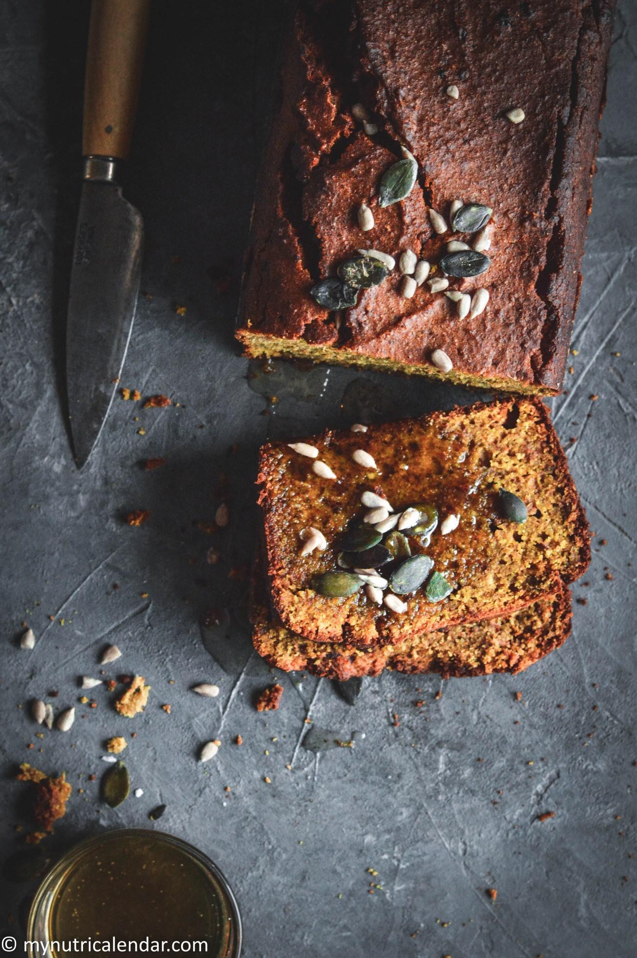 gingerbread pumpkin cake 6