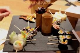 Platters of food!
