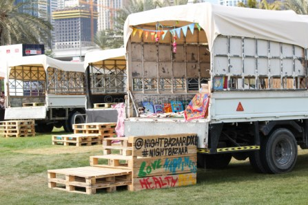 The trucks that you could sit in for brunch