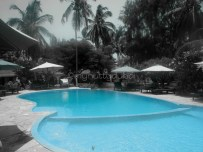 The pool at the lodge