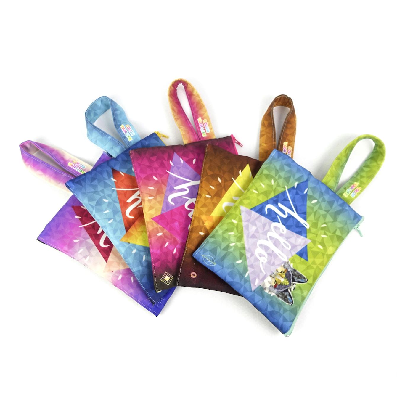 網布扁型提把小物包-單價94~97元 | MYOACG 文創周邊商品製造商
