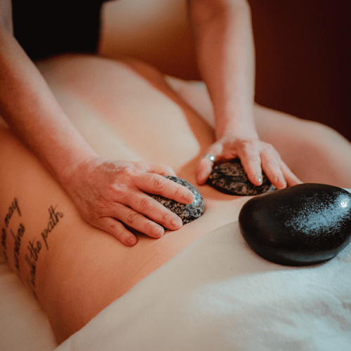 Calgary Hot Stone Massage