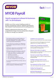 learn myob payroll