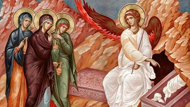 Image result for orthodox icon empty tomb