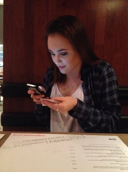 Free wifi, Wagamama is our best friend.