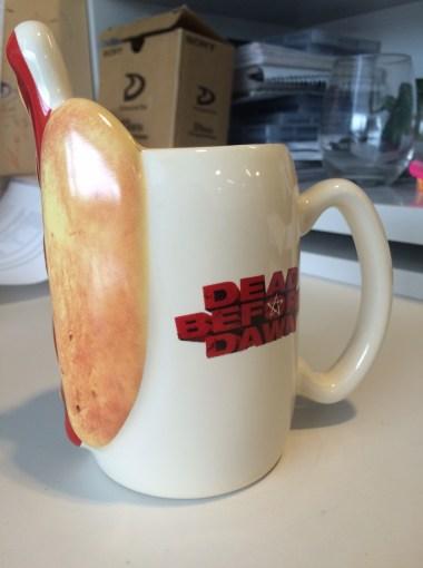 Dead Before Dawn Hot dog Mug 2 Dec 18