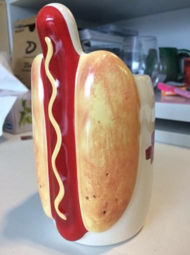 Dead Before Dawn Hot dog Mug Dec 18