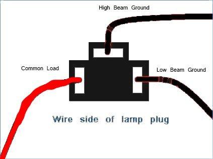 Headlamp Socket Wiring   Wiring Schematic Diagram on
