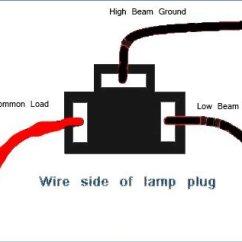 Headlight Socket Wiring Diagram 1997 Mitsubishi Mirage Stereo Plug Blog 1st Gen 4runner H4 Conversion U2022 My Off Road Radio 1977 Sportsman