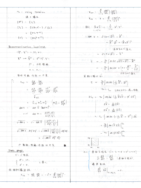 場の量子論Ⅱ
