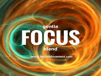 Essential Oil Blend for Focus Needs