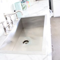 Rohl Country Kitchen Faucet Blonde Cabinets Choosing Formica Marble Over Real | My Old ...
