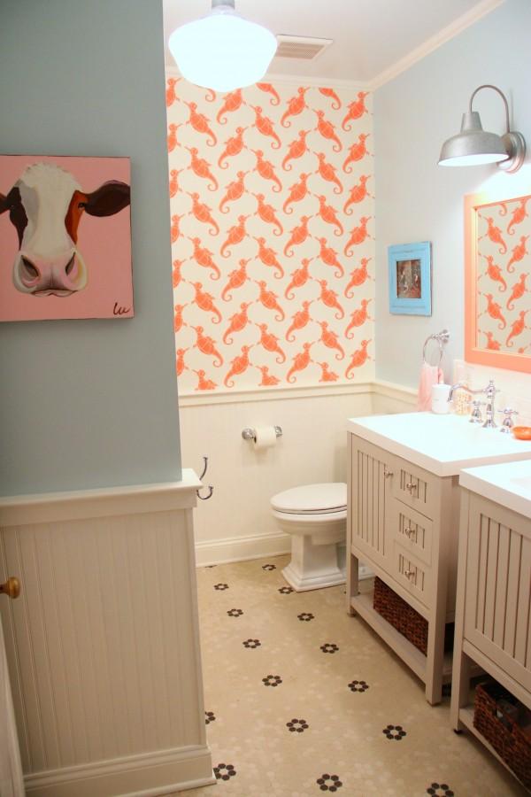 The Kids Bathroom Makeover Reveal