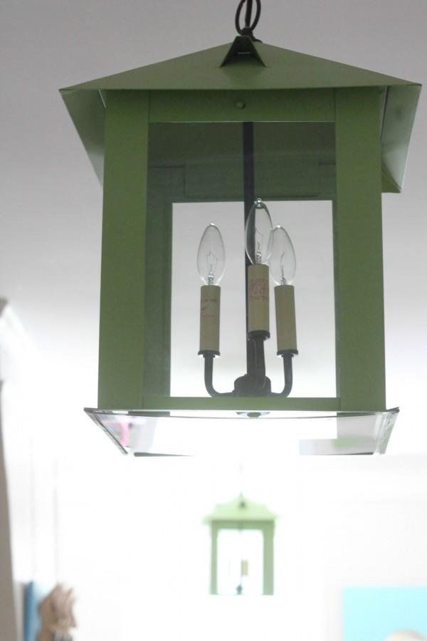 LEAF GREAN Charleston lanterns From Shadesoflight.com