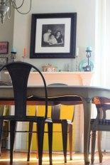 DINING ROOM IN BENJMAIN MOORE SPRING IN ASPEN