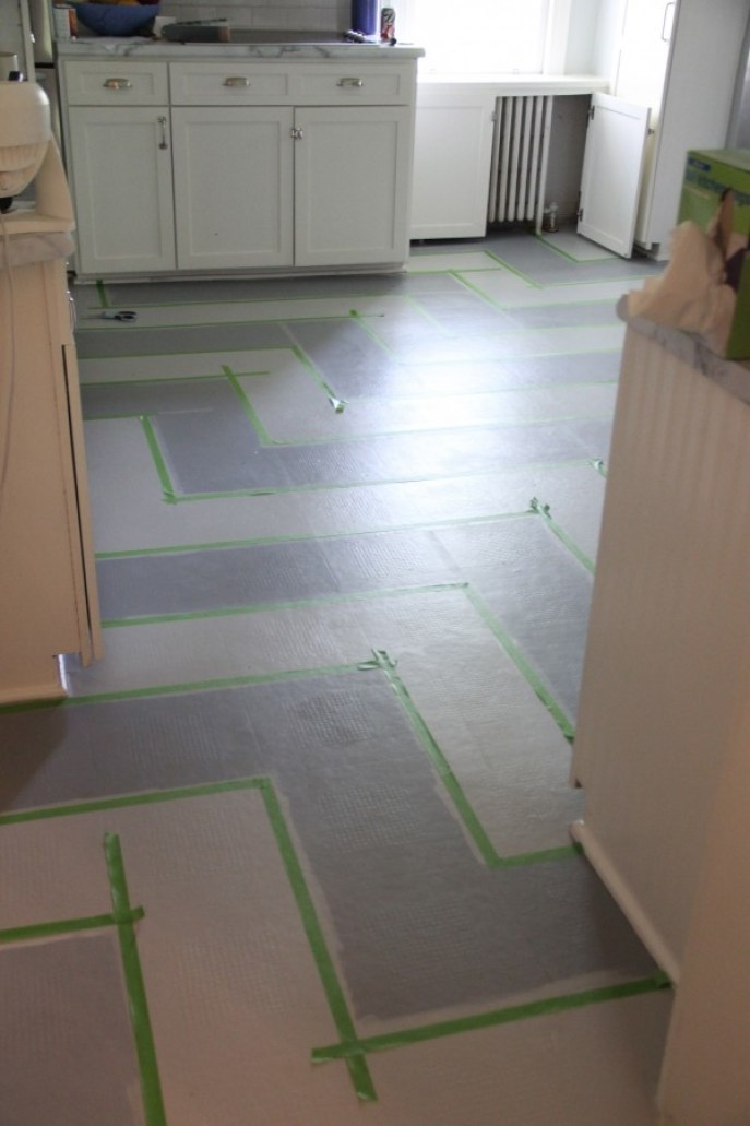 You Can Paint A Vinyl Floor