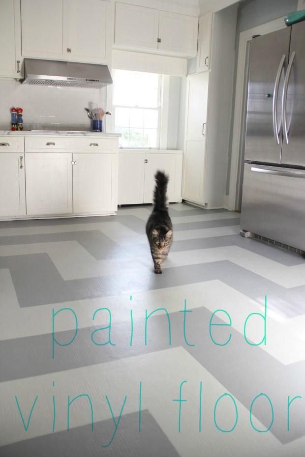 Painting Vinyl Flooring - Home Design Ideas