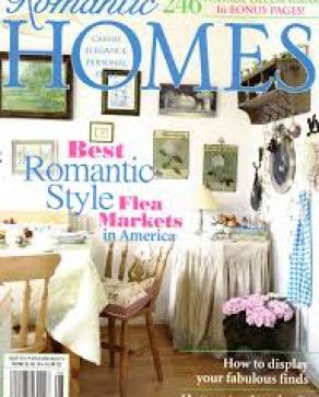 ROMANTIC HOMES AUGUST 2013