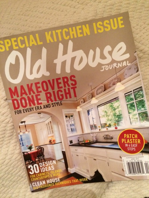 OLD HOUSE JOURNAL MAGAZINE!!! I AM ON PAGE 64!!!!