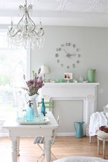 "Martha Stewart ""GRAY PEARL"" from Dreamy Whites blog"