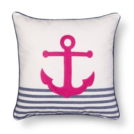 Threshold™ Embroidered Anchor Decorative Pillow - Yellow