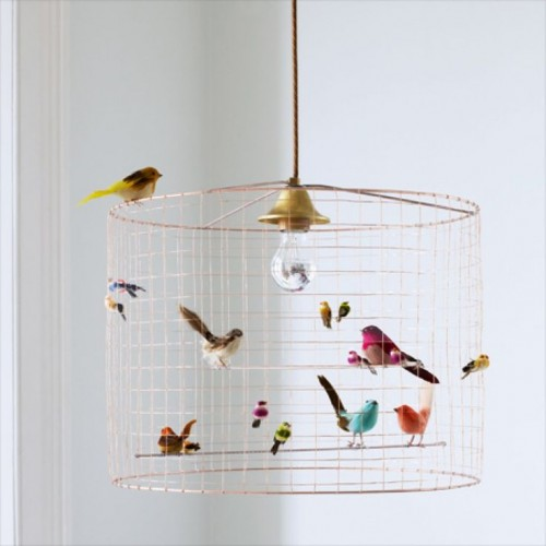 BIRDCAGE CHANDELIER AT GRAHAM AND GREEN - WOULD LOVE FOR PHOEBE'S ROOM!