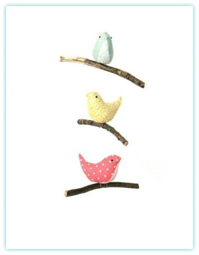 BIRDMOBILE ON ETSY